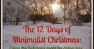 Minimalistchristmas