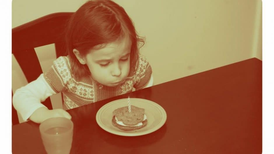 Blowing Candle